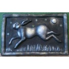 Running Hare Wall Plaque