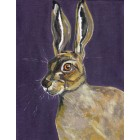 Hare in Heather Original Painting