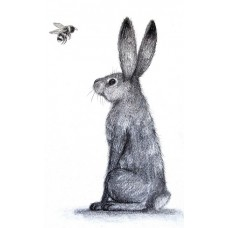The Hare & The Bee Print