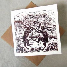 March Hares card