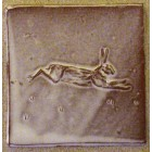 Distant Running Hare tile