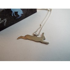 Large Leaping Hare pendant