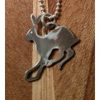 Running Hare pendant small