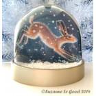 Acrylic Snow/Glitter Dome