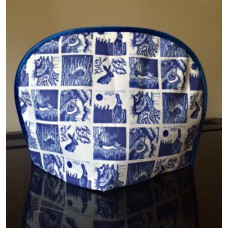 Hare fabric tea cosy
